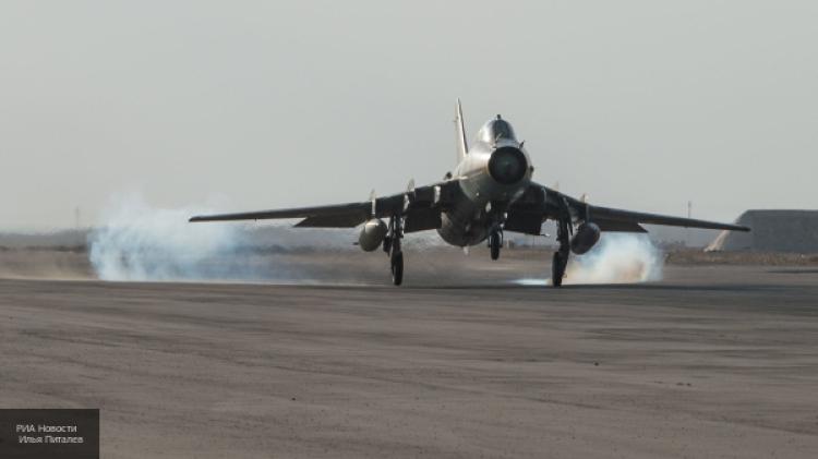ВВС САР провели бомбардировку укрепрайонов террористов на окраине Хомса